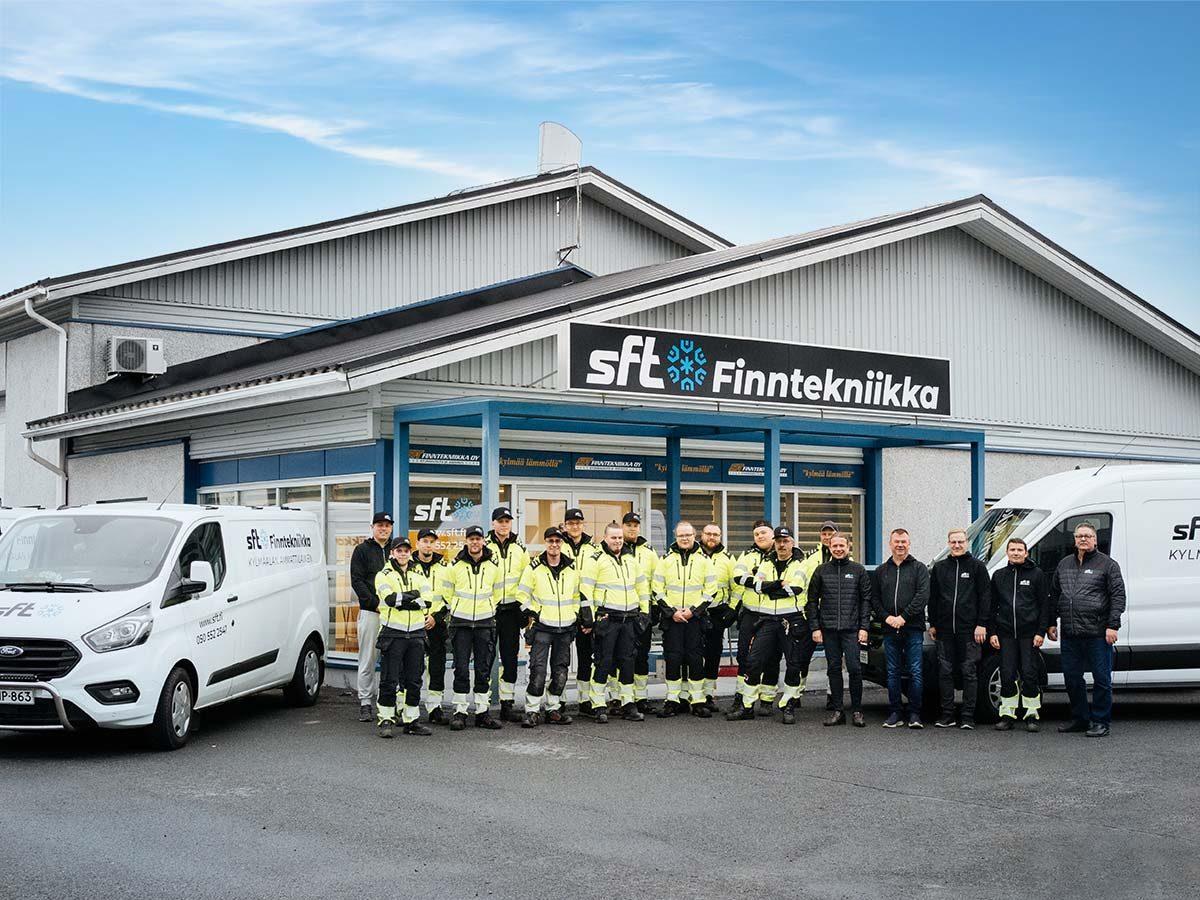Kaikki kylmälaite- ja jäähdytysjärjestelmäratkaisut saman katon alta - SFT Finntekniikka Oy