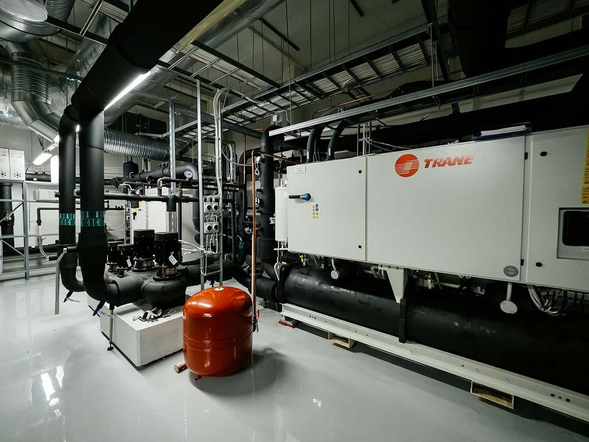 Ilmastoinnin jäähdytys - Palvelu - SFT finntekniikka Oy